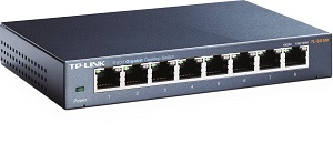 Switch 8 ports 1000MBits